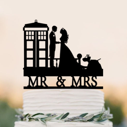 Wedding Cake Topper Doctor Who
