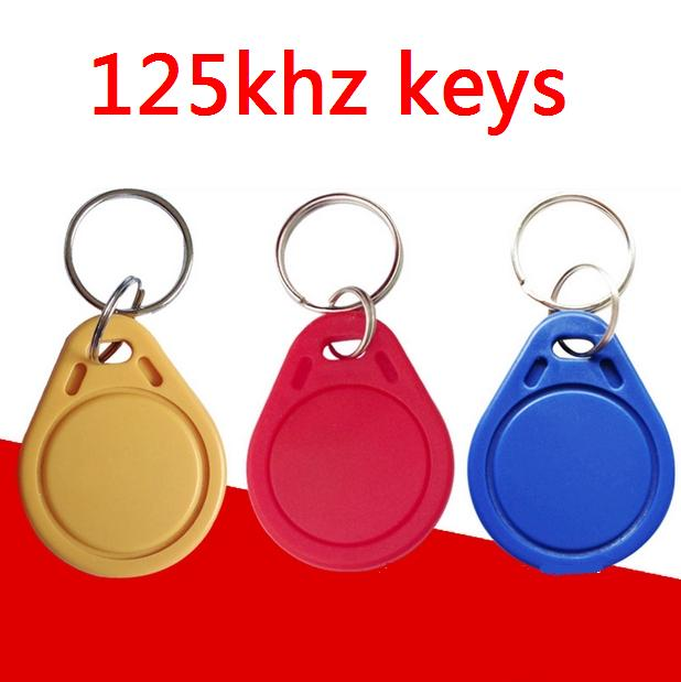 100pcs/lot RFID 125khz Tags TK4100 Rfid Card Token Key Rfid Tag Access Control Acceso Pulseira 3 COLOR Smart Card ID Keyfobs 50pcs lot 125khz rfid tag proximity id card key tag keyfobs access control card blue yellow red