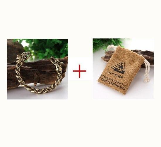 Dropshipping Viking Wolf Tin Bracelet Pagan Teen Wolves Bangle Best Friend  Gift Wristband Cuff