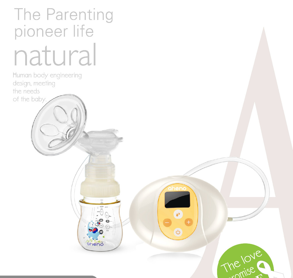Electric breast pump(A165);Mute;Nine gear adjustment;LCD liquid crystal display;simple operation;Dual-frequency modeElectric breast pump(A165);Mute;Nine gear adjustment;LCD liquid crystal display;simple operation;Dual-frequency mode