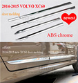 for XC60 accessories side door molding/moulding,body trim,three choices, stainless steel or ABS, for XC60 2009-2013 or 2014-2016