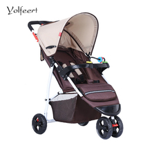 YOLFEERT Cheap Baby Pram Carriage Lightweight Folding Umbrella Stroller Wheel-chair Trolley Prams Strollers China Pushchair