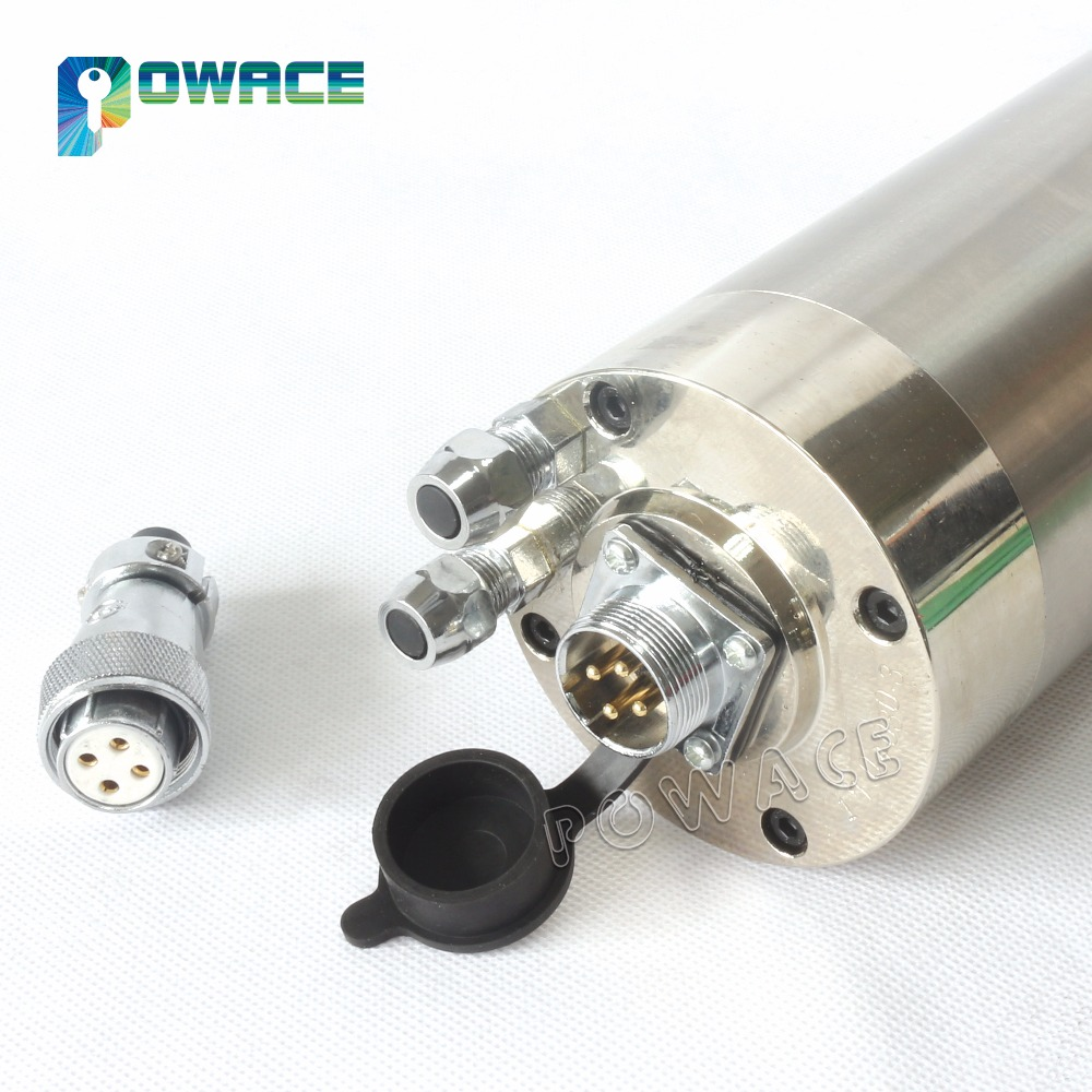 [EU STOCK] High Quality 2.2KW Waterproof Water Cooled Spindle Motor Carved Metal ER20 220V for CNC Engraving Milling Machine