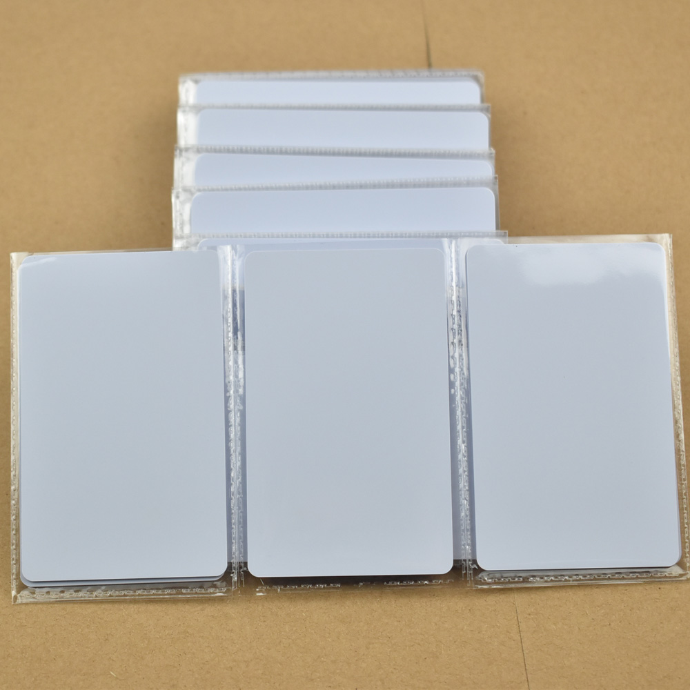 100pcs/lot nfc changeable 1k S50 thin pvc proximity card RFID 13.56MHz ISO14443A Smart Card Fudan Chips Waterproof 200pcs lot customable 8 4mm mag stripe 2 track pvc smart ic card for iso hi co 2750 3000 4000 oe