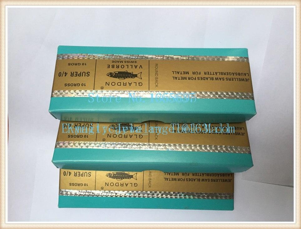 Size 2  2/0 3/0 4/0 Jewelry Sawblade Jewelry Tools For Sale 144pcs/pack Glardon Vallorbe Sawblades