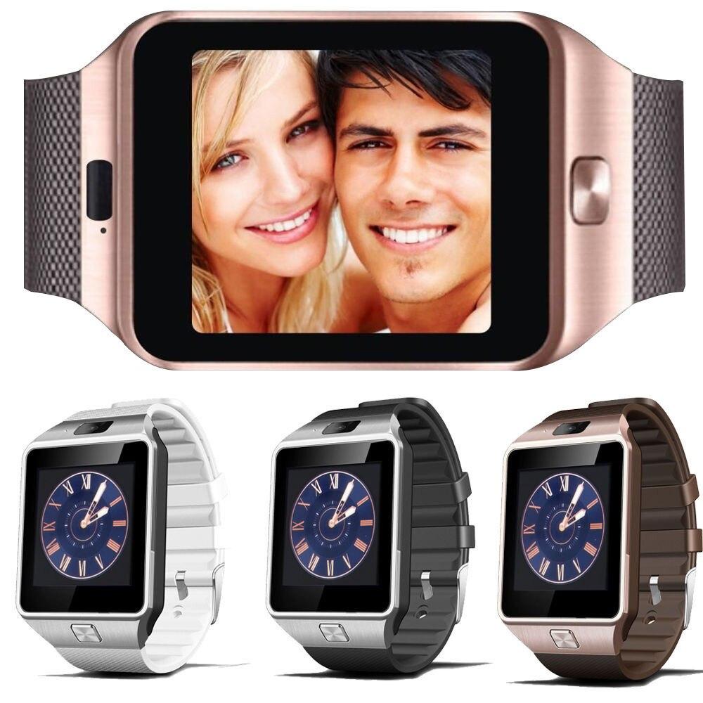 imágenes para U8 Reloj inteligente DZ09 Digital con Hombres Deporte Tarjeta Electrónica Bluetooth SIM Smartwatch Para Android Teléfono con Cámara Usable Dispositivos