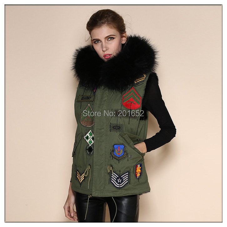 new 2015 fashion womens Outerwear, bomber jacket cardigan blouse women female coat real vest fur coat hood wemen mr mrs