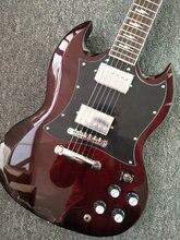 Классические модели человека, и red Angus young ac-dc power встроены в гитарный стиль S G. Электрогитара бесплатная доставка