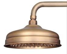 Bathroom Accessories / Brass Antique Style 8 inch Round Shape Rain Shower Head csh022