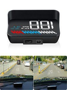 Image 4 - M7 OBDHUD Head Up Display  Universal Car Hud OBD Plus GPS speedometer Windshield Projector On board Automatic Computer