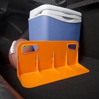 Wielofunkcyjny tylny bagażnik samochodowy stały uchwyt na półkę pojemnik na bagaże stojak odporny na wstrząsy Organizer uchwyt na schowki tanie i dobre opinie Tylny regały i akcesoria