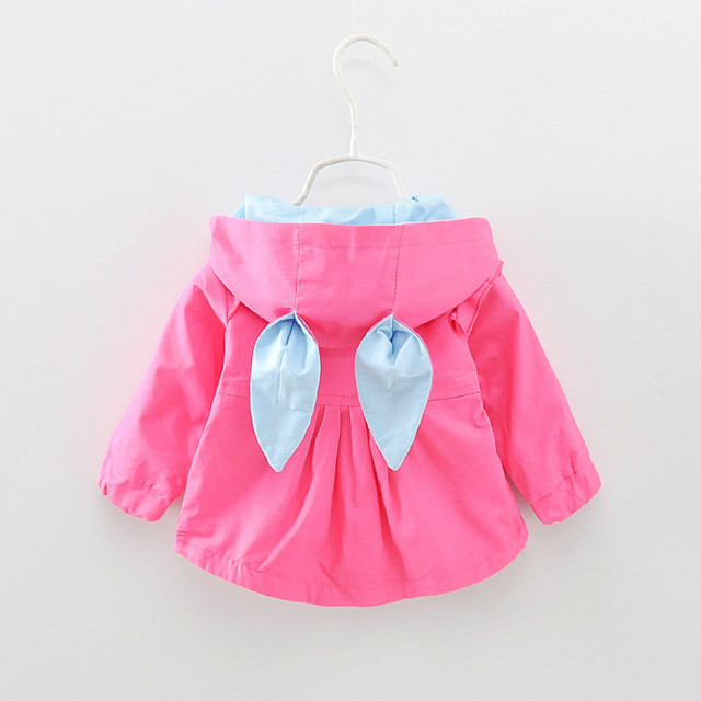 Aliexpress.com : Buy 2017 Baby Girls Jacket Spring Hooded Coats ...