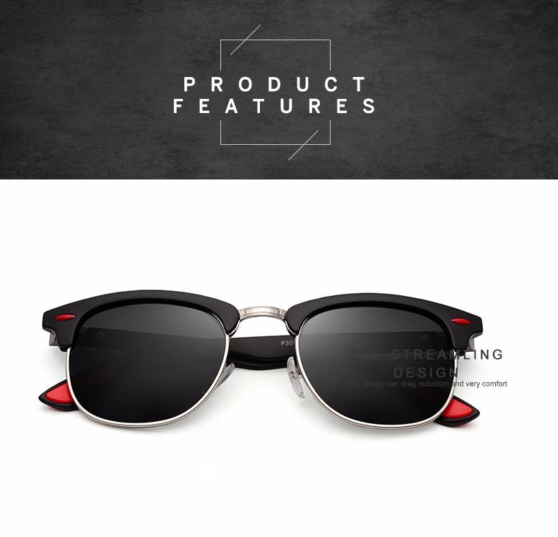 ASUOP 2019 New Polarized Sunglasses for Women UV400 Fashion Round Men's Glasses Classic Retro Brand Design Driving Sunglasses (7)