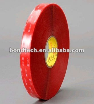 3/4 in X36YD 3M VHB tape 4905 Clear for glass doors/skylights, 0.5mm,Free shipping for free shipping 323 sea fuxing 2 glass doors lifter qianmen elevator machine