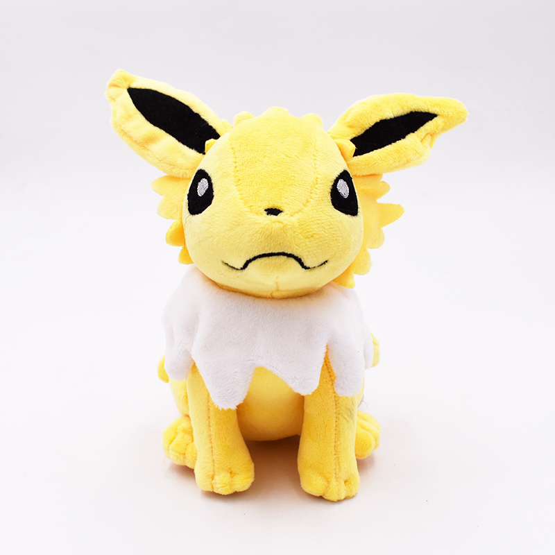 2018 New Jolteon Plush Doll Sitting Pose 17cm Anime Figure Peluche Baby Carton Series Dolls Kids Toys Gift Free Shipping