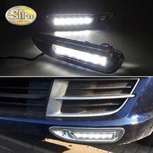 Для Mazda 6, мазда 6, 2008, 2009, 2010, с хромированной ABS крышкой, автомобильные DRL водонепроницаемые ABS DC 12 В светодиодный светильник дневного света, Дневной светильник SNCN