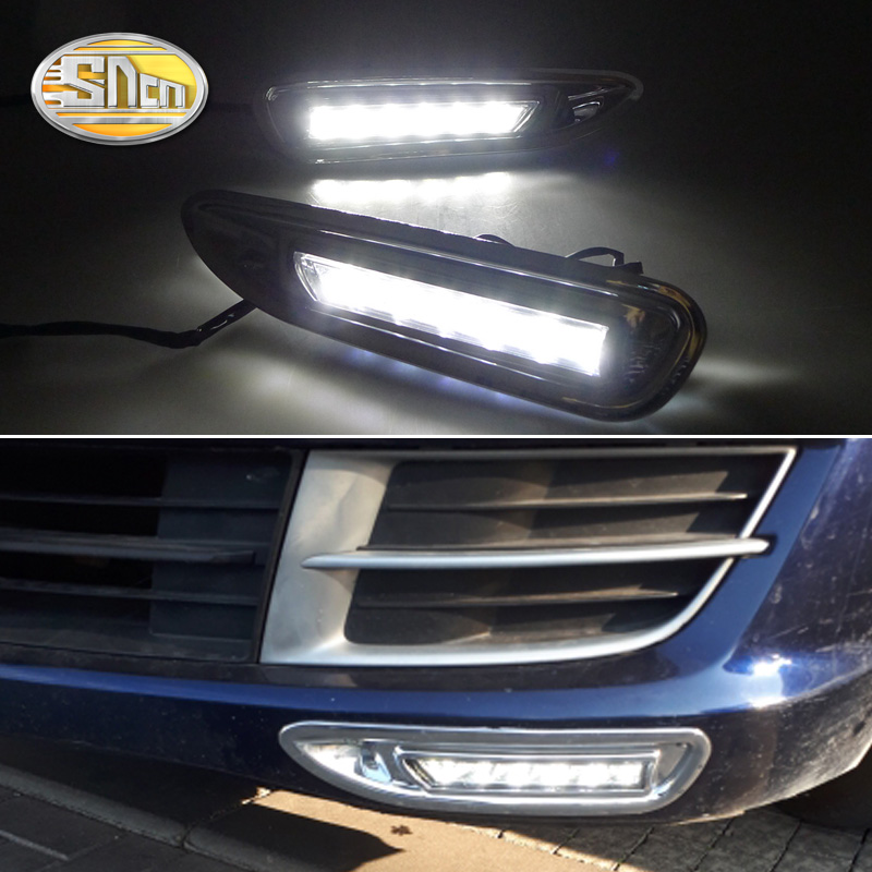 Untuk Mazda 6 Mazda6 2008 2009 2010, Dengan Chromed ABS Cover Car DRL Waterproof ABS DC 12V LED Daytime Running Light Daylight SNCN