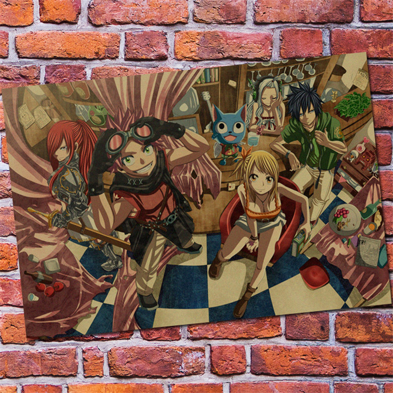 Up Fairy Tail Poster Wall