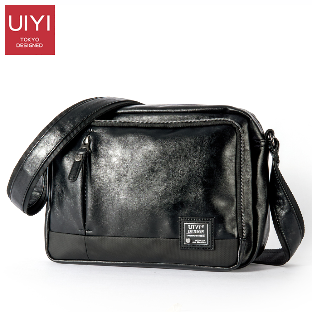 UIYI Casual Men's Messenger Bags PVC Shoulder Bag Fashion Men Business Crossbody Bag Travel Handbag Drop Shipping #UYX7056 12v dc 4l min 100psi high pressure diaphragm water pump