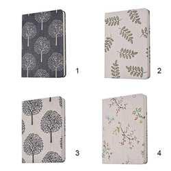 A5/A6 цветок и дерево ткань Тетрадь Дневник путешествия планы блокнот ребенок студенты стационарный подарков 132 страниц
