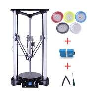 2017 New Arrivals Cheap 3D Printers Multi Language Laser Engraving Large Size Metal Kossel Delta 3D