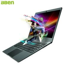"BBEN 14.1"" Ultrabook Laptop Windows 10 Intel N3450 Quad Core 4GB RAM 64G ROM SSD Optional WiFi BT4.0 HDMI Type C Netbook N14W"