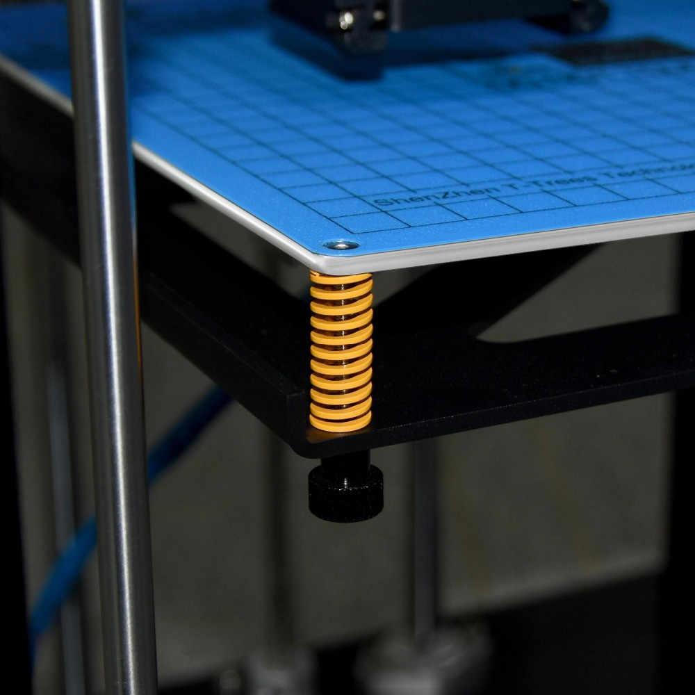 3D ชิ้นส่วนเครื่องพิมพ์ฤดูใบไม้ผลิสำหรับเตียงอุ่น MK3 hotbed นำเข้าความยาว 25 มม.OD 10 มม.5 มม.สำหรับ CR-10 CR-10S 3D เครื่องพิมพ์