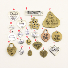 20Pcs Wholesale Bulk Diy Jewelry Accessories Made For You Hand Charms Charm Women Backless Dress HK008