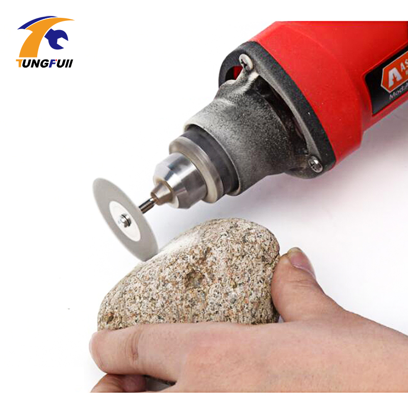 TUNGFULL 60mm Diamond Cutting Disc For Mini Drill Dremel Tools Accessories Diamond Disc Steel Rotary Tool Circular Saw