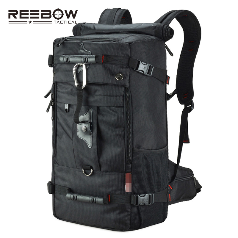 35L Travel Outdoor 17'' Laptop Backpack Men Sports Military Camera Camping Mountain Backpack Bag Tactical Multifunction