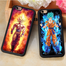 Dragon Ball Z Super Sayan Goku Vegeta Cases For iPhone