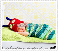 Rushed Real Lovely Baby for Hand-woven Clothing newborn Photography Props Novelty Accessories Fotografia Sleeping Bag gorro