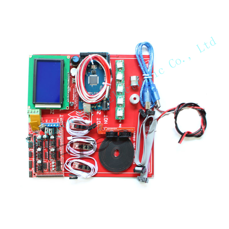 3D Printer Kit Ramps 1.4 + 12864 LCD + MK2B Heatbed + Controller Prusa i3 for 3d printer