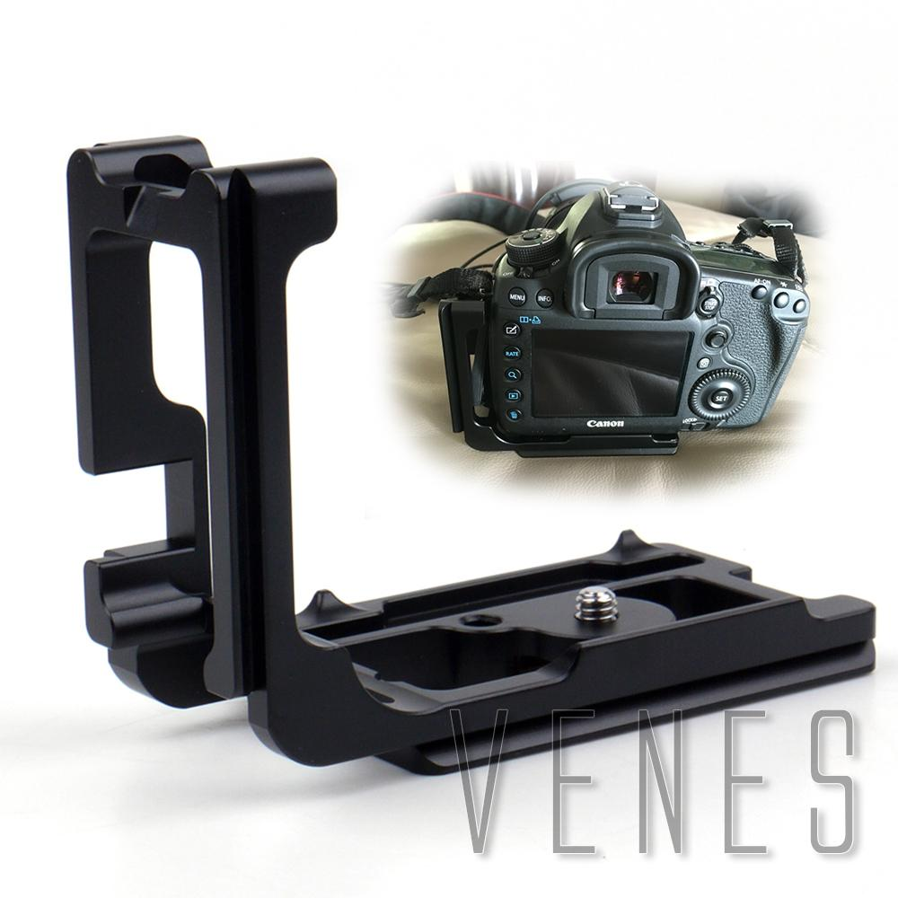 Highly recommended ! Black Vertical Shoot Quick Release L Plate Bracket Hand Grip Work For Canon 5D Mark III  Simple Accessory