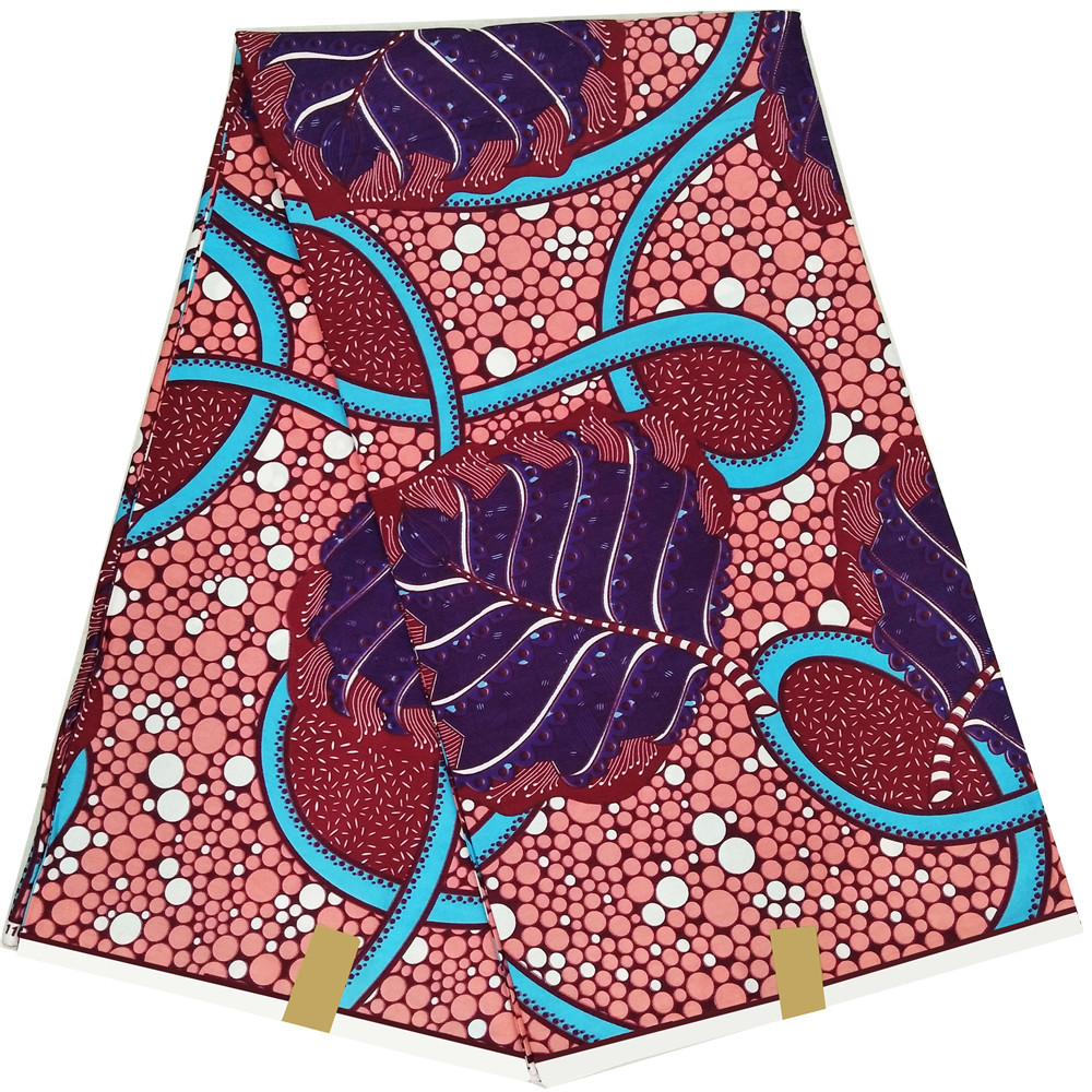 high quality ankara style wax high quality real dutch wax wrapper for women dress A1200 in Fabric from Home Garden