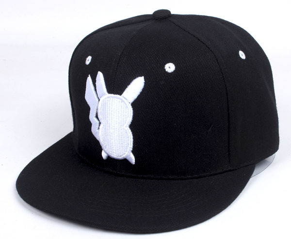 新製品スナップバックキャップポケモン行く帽子picachoペット小さな精神野球帽子ポケットモンスターヒップホップ帽子男性と女性