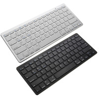 Ultra Thin Mini Wireless Keyboard Bluetooth 3 0 Gaming Keyboard Remote Control For Apple IPad IPhone