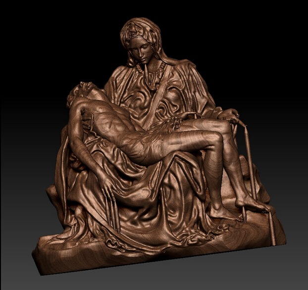 New model!!! 3D model for cnc or 3D printers in STL file format La Pieta martyrs faith hope and love and their mother sophia 3d model relief figure stl format religion for cnc in stl file format