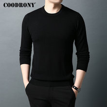 COODRONY Brand Sweater Men Pure Merino Wool Mens Sweaters Autumn Winter Thick Warm Cashmere Pullover Men O-Neck Pull Homme 93015 coodrony brand pure merino wool sweater men autumn winter thick warm soft cashmere pullover men fashion o neck pull homme 93021