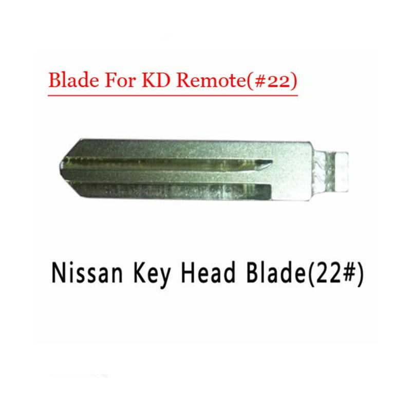 Free shipping (10 pcs/lot)Metal Blank Uncut Flip Remote Key Blade Type #22 for Nissan free shipping 10 pcs lot metal blank uncut flip kd remote key blade type 50 for hyundai tucson