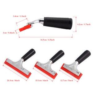 Image 3 - EHDIS Handvat Zuigmond met Rubber Blade Vinyl Auto Wrap Tool Huis Cleaning Tools Window Tint Glas Keuken Water Wisser Schraper