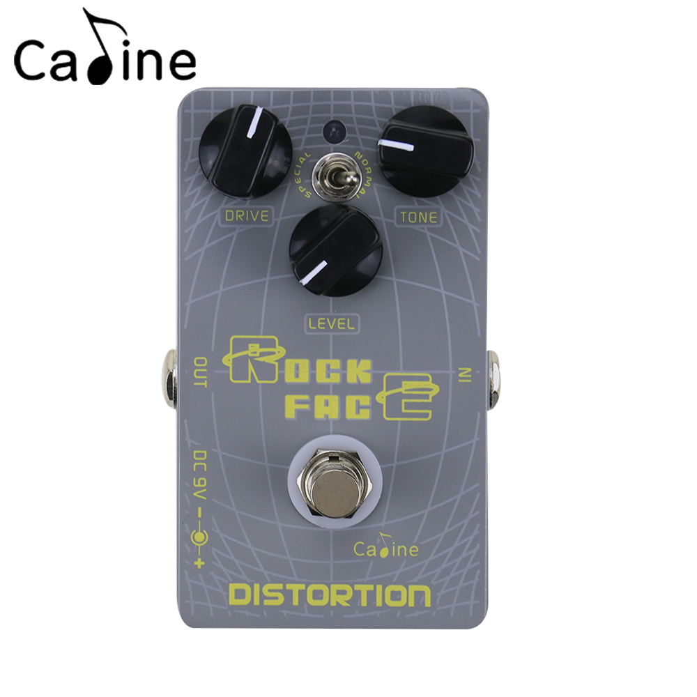 Caline CP-21 Digital Delay Distortion Guitar Effect Pedal Aluminum Alloy Housing Ture Bypass caline cp 26 guitar effect pedal snake bite reverb effect pedals true bypass design with delay effect no coloring sound
