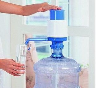 vilead 5 gallon plastic bottled drinking water hand press manual pump dispenser new creative water bottle - 5 Gallon Water Bottles