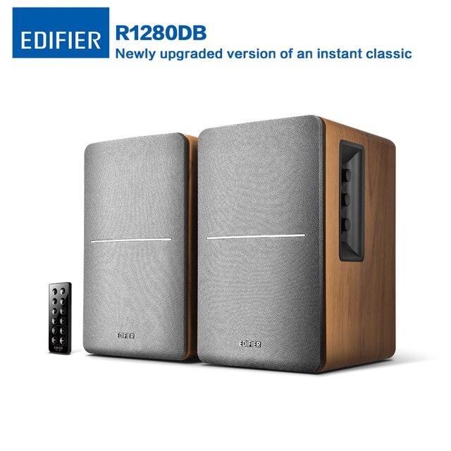 Edifier R1280DB Wireless Bluetooth Speaker Studio Active Bookshelf With 4 Bass Driver Dual RCA