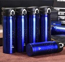 350/500 ml 12 Konstellation Edelstahl Thermocup Garrafa Termica Isolierflaschen Termos Becher Wasser Flasche Isolierte Thermobecher