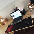 New Free Shipping Red Large Laptop Gaming Mouse Pad Keyboard Mat 700*300mm