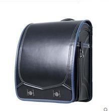 Высокое качество пу рюкзак чистый цвет первичная студенты могут положить в бумаги ФОРМАТА А4 3 цвет, чтобы выбрать