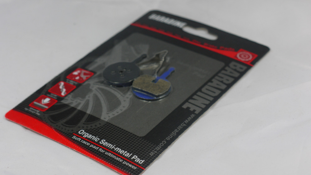 SEMI METAL ORGANIC DISC BRAKE PADS SUIT AVID BB5 ONE PAIR