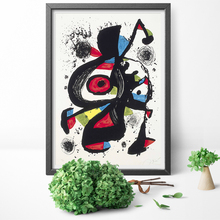 цена на Joan Miro Famous Paintings Abstract Wall Art Canvas Painting Poster Canvas Print For Living Room Home Decor No Frame