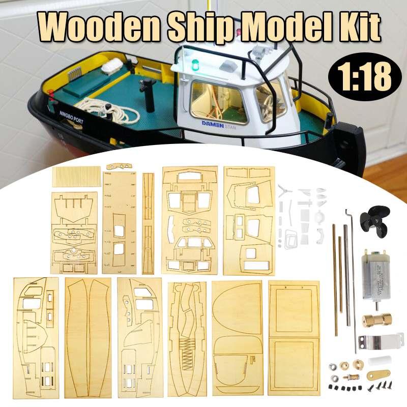 1:18 modèle de bateau avec moteur éducatif modèle de construction jouets loisirs pour enfants compatible bricolage modèle de bateau kits de construction